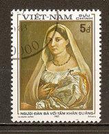 1983 - Raphaël (1483-1520) La Dame Voilée - N°425 - Viêt-Nam