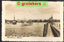 KONSTANZ Hafen ± 1932 Mit Schiff - Konstanz