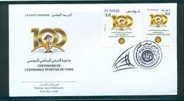 Tunisie 2019-Centenaire De L'espérance Sportive De Tunis Fdc - Tunisia