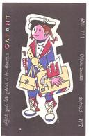 Buvard Pâtes Et Biscottes GAYANT Série N°1 Alpin (Louis XVX) Buvard N°7 - Alimentaire