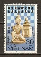 1983 - Jeux D'échecs - Guerrier Et Château (Vietnam) N°428 - Viêt-Nam