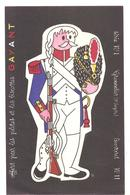 Buvard Pâtes Et Biscottes GAYANT Série N°1 Grenadier (1 Er Empire) Buvard N°11 - Alimentaire