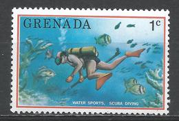 Grenada 1976. Scott #701 (MNH) Scuba Diving * - Grenade (1974-...)