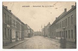 Avelgem Statiestraat Oude Postkaart Avelghem - Avelgem