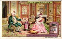 0978 Liebig 6 Cards- C1909-Styles Of Furniture-Ameublement-Style Louis XVI-Empire-Louis XV-Gothique-Renaissance-Modern - Liebig