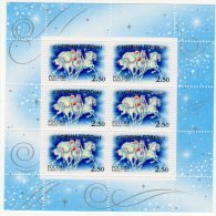 RUSSIE - 2001 - N° 6603  **   Nouvel An  (miniature Sheets) - 1992-.... Federation