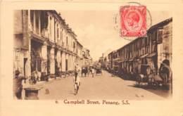 Malaya - Topo / 01 - Campbell Street - Penang - Belle Oblitération - Malaysia