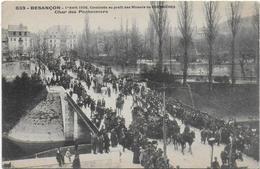 CPA - BESANCON - 1ER AVRIL 1906 - CAVALCADE AU PROFIT DES MINEURS DE COURRIERES - CHAR DES PONTONNIERS - ANIMEE - Besancon