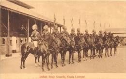 Malaya - Topo / 08 - Indian Body Guards - Kuala Lumpur - Malaysia