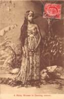 Malaya / 08 - A Malay Woman In Dancing Costum - Malaysia