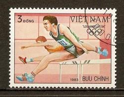 1983 - Jeux Olympiques à Los Angeles - Course De Haies -  N°439 - Viêt-Nam
