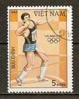 1983 - Jeux Olympiques à Los Angeles - Lancé Du Poids -  N°440 - Viêt-Nam