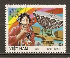 1983 - Journée Mondiale Communications - Communication Spatiales - N°467 - Viêt-Nam