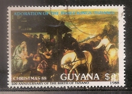 GUYANE OBLITERE - Guyana (1966-...)