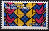 Mexique. Jour Mondial De La Poste. 1 T-p Neuf ** De 2002. - Mexique