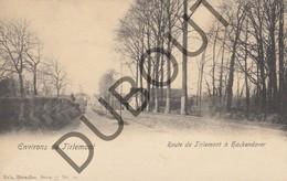 Postkaart - Carte Postale TIENEN/Tirlemont Hakendover Route De Tirlemont (K25) - Tienen