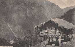 Sikkim / 01 - Lepcha Hut - Postcards