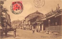 Singapour / 06 - China Town - Belle Oblitération - Singapour