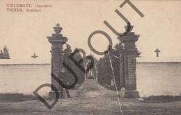 Postkaart - Carte Postale TIENEN/Tirlemont Kerkhof - Cimetière (slechte Staat!) (K26) - Tienen