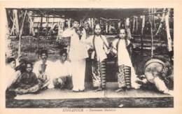 Singapour / 13 - Danseuses Malaises - Singapour