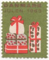 Denmark 1963, Julemaerke, Christmas Stamp, Vignet, Poster Stamp - Denemarken