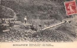 Singapour / 18 - Usine De Zinc - Le Lavage - Singapour