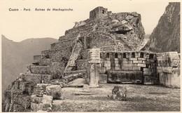 Peru Cuzco Ruines De Machupicchu - Peru