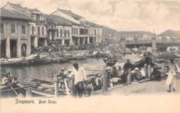 Singapour / 16 - Boat Quay - Singapour
