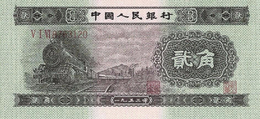 CHINA 2 角 (JIAO) 1953 P864 UNC REPLICA COPY - China