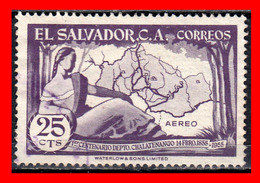 EL SALVADOR SELLO DEL AÑO 1956 - El Salvador