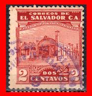 EL SALVADOR  SELLO DEL AÑO 1924-25 - El Salvador