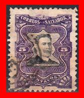 EL SALVADOR  SELLO DEL AÑO 1910 - El Salvador