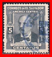 EL SALVADOR  SELLO DEL AÑO 1953 - El Salvador
