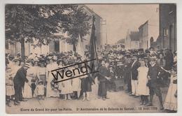 Genval (15 Août 1909 - Xe Anniversaire De La Colonne - Animée) - Rixensart