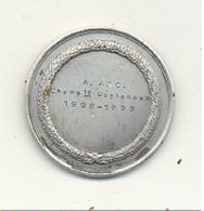 LUTTE - Médaille A.A.C. Championnats Régionaux 1932 / 1933 (b244) - Wrestling