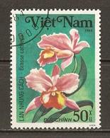 1984 - Orchidées - Brasse Cattleya - N°499 - Viêt-Nam