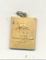 LUTTE - Médaille C. A. S. 1924  - St Gillois (b244) - Wrestling