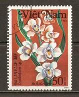 1984 - Orchidées - Cymbidium Sp - N°500 - Viêt-Nam