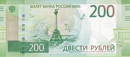 RUSSIA 200 PУБЛЕЙ (RUBLES) 2017 P-276a UNC [RU835a] - Russia