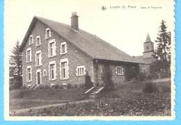 Louette Saint-Pierre (Gedinne)-+/-1950-Eglise Et Presbytère-Edit.Nels--> Hôtel Motor, M.Schelbach, Louette St.Pierre - Gedinne