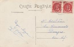 France Carte Montoir De Bretagne 1942 - Marcophilie (Lettres)