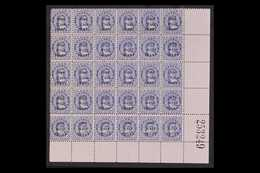 1899 RARE COMPLETE SURCHARGE SETTING OF 30. ½d On 1d Blue Surcharge, SG 21, Fine Mint (most Stamps Are Never Hinged) Low - Cook