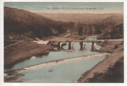 CPE. 028/ CHINY - Le Pont St Nicolas Et Le Barrage - Belgium