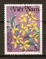 1984 - Orchidées - Cymbidium Phoenix - N°504 - Viêt-Nam