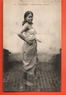 TRL-12 Cambodge Femme De Kompong-Cham .Indochine-Française.Non Circ. - Cambodia