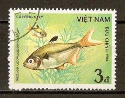 1984 - Poisson - Serpae Tetra (Hyphessobrycon Serpae) - N°510 - Viêt-Nam
