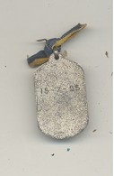 LUTTE - Médaille Datée Du 15/07/1925  (b244) - Lutte (Wrestling)