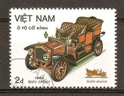 1984 - Automobiles - Double Phaeton Lion PEUGEOT 1908 - N°516 - Viêt-Nam