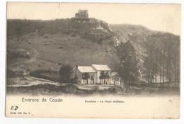 Dourbes Le Vieux Château Panorama Carte Postale Ancienne Viroinval - Viroinval
