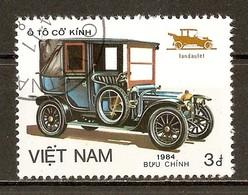 1984 - Automobiles - De Dion-Bouton BR Landaulet 1908  - N°517 - Viêt-Nam